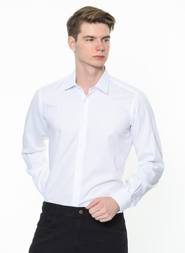 Daffari Gömlek Beyaz